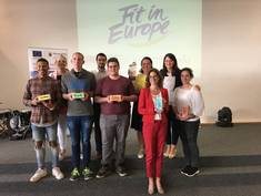 "Pitch-your-Project-Award: Ministerin Bätzing-Lichtenthäler besucht Sieger-Projekt ""Fit in Europe"""